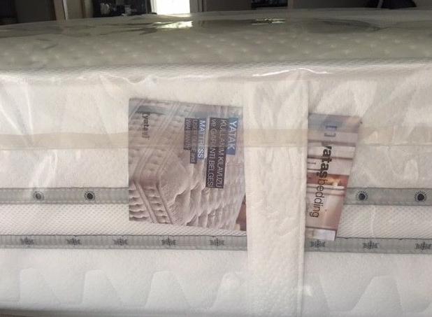 Spot yatak, yataş marka sıfır yatak prestij prime model ortopedik 180 x 200