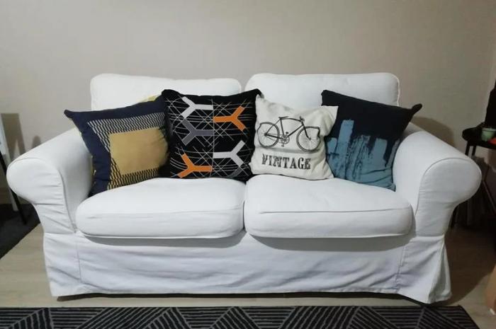 ikea 2′ li kanepe ihtiyaç fazlası rahat koltuk