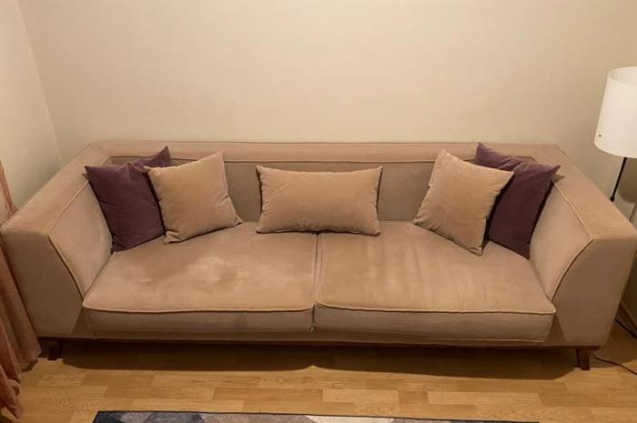 2 adet 3 kişilik kanepe çok az kullanıldı ihtiyaç fazlası