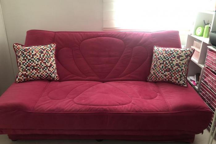 Temiz durumda çok az kullanıldı istikbal well yataklı kanepe çekyat